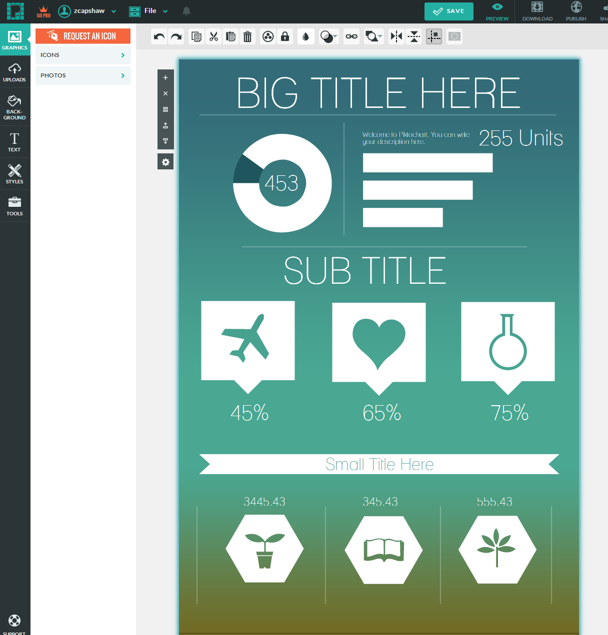 How to Create Easy Infographics with Piktochart | Innovations in ...
