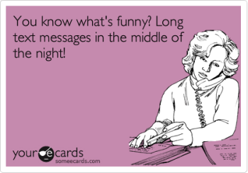 long text messages