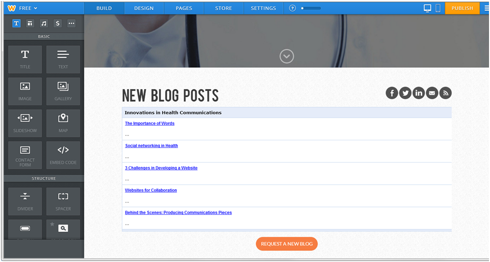 Adding a RSS Feed to You Website: Weebly Example | Innovations in ...