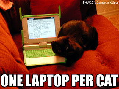 [One Laptop Per Cat]