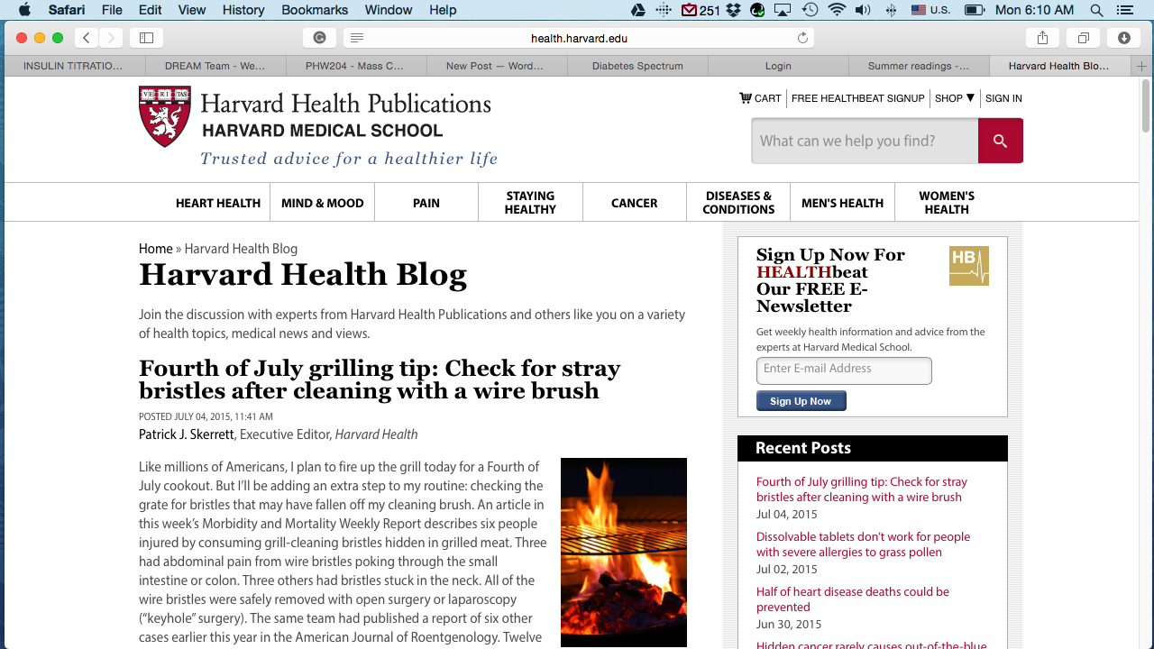 Anatomy of the Best Health Blog: 9 Elements on Designing the Best ...