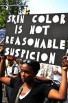 skin color is not reasonable suspicion