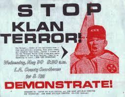 stop klan terror