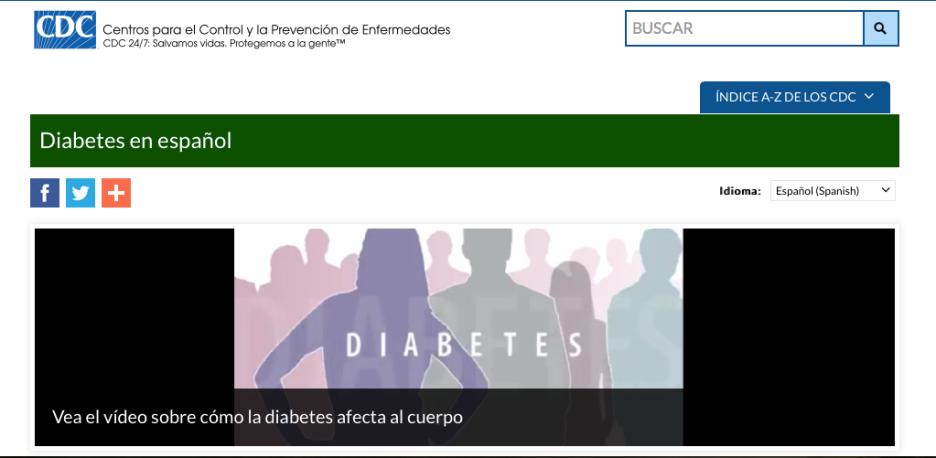 CDC Spanish Video
