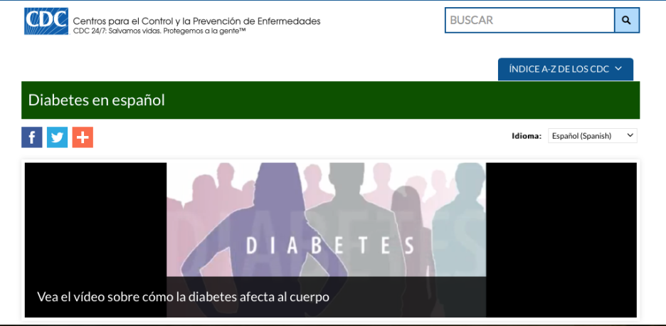 CDC Spanish Video
