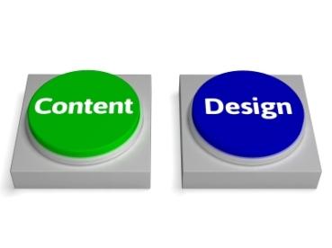 content design buttons