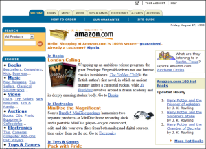 Amazon back in the day